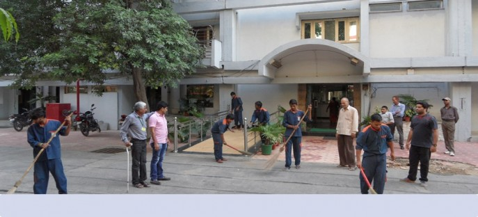 """<p><span style=""""font-size: small;""""><span style=""""color: rgb(128, 0, 0);""""><strong>Special cleanliness drive in the Hostel of ISTM held on 28/09/2014</strong></span></span></p>"""