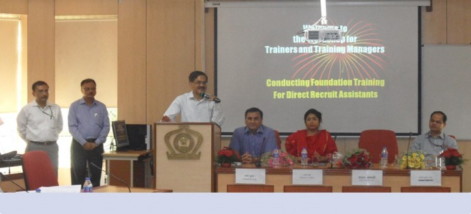"""<p><span style=""""font-size: small;""""><span style=""""color: rgb(128, 0, 0);""""><strong>Inaugurated by Secretary (P)- Workshop for Trainers &amp; Training Managers on 07.05.2015</strong></span></span><span style=""""font-size: medium;""""><span style=""""color: rgb(128, 0, 0);""""><strong><br /> </strong></span></span></p>"""