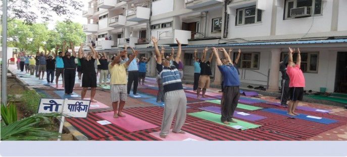 """<p><span style=""""font-size: medium;""""><span style=""""color: rgb(128, 0, 0);""""><strong>National Yoga Day - Celebrated at ISTM on 11/06/2015</strong></span></span></p>"""