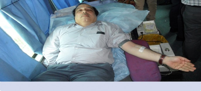 """<p><span style=""""font-size: medium;""""><span style=""""color: rgb(128, 0, 0);""""><strong>Blood Donation Camp - Organised in ISTM on 26/06/2015</strong></span></span></p>"""