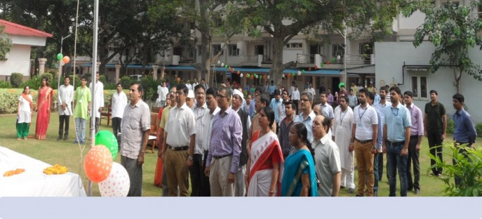 """<p><span style=""""font-size: medium;""""><span style=""""color: rgb(128, 0, 0);""""><strong>India 69th Independence Day celebrated at ISTM on 15.08.2015</strong></span></span><span style=""""font-size: medium;""""><span style=""""color: rgb(128, 0, 0);""""><strong><br /> </strong></span></span></p>"""