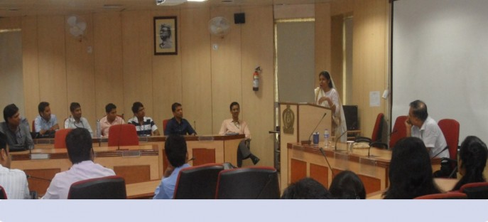 """<p><span style=""""font-size: x-small;""""><span style=""""color: rgb(128, 0, 0);""""><strong>Smt.Santosh Yadav, Padmashree, renowned mountaineer interection with ADR participants on 18.08.2015</strong></span></span><span style=""""font-size: medium;""""><span style=""""color: rgb(128, 0, 0);""""><strong><br /> </strong></span></span></p>"""