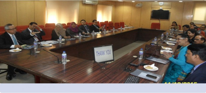 """<p><span style=""""font-size: small;""""><span style=""""color: rgb(128, 0, 0);""""><strong>Visit of Delegation from Government of Malaysia at ISTM on 11 December, 2015</strong></span></span></p>"""