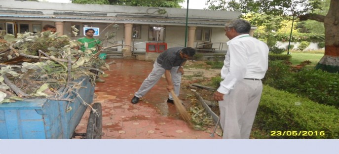 "<p><span style=""font-size: small;""><span style=""color: rgb(128, 0, 0);""><strong>Swachh Bharat Mission in the common area around ISTM Hostel on 23.05.2016</strong></span></span><span style=""font-size: medium;""><span style=""color: rgb(128, 0, 0);""><strong><br /> </strong></span></span></p>"