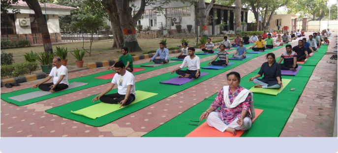 "<p><span style=""font-size: large;""><span style=""color: rgb(128, 0, 0);""><strong>International Yoga Day celebrated at ISTM on 21/06/2018</strong></span></span></p>"